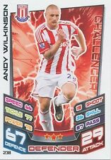 N°238 ANDY WILKINSON STOKE CITY TRADING CARD MATCH ATTAX TOPPS 2013