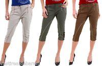 Pantaloni Capri Donna Jeans SEXY WOMAN A360 Tg 40 42