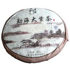 Menghai Large Leaves Tea Cake Yunnan Pu'er Puerh Pu-erh Tea Qizi Tea Cake 357g
