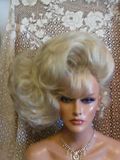 HALLOWEEN SPECIAL VEGAS GIRL WIGS PICK A COLOR BIG SIDE DO FULL BANGS RED CARPET
