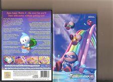 AQUA AQUA WETRIX 2  PLAYSTATION 2 PS2 PS 2