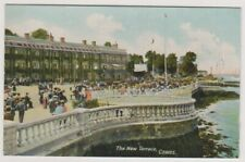 Isle of Wight postcard - The New Terrace, Cowes - RP (A426)