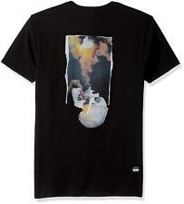 NEW Billabong Gallery Exhale Kostechko Men's Size S T-Shirt 100% Cotton Black
