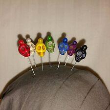 7 custom Ritual Voodoo pins guide, candle magick, santeria, hoodoo, voodoo dolls