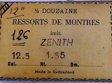 Mainspring Ressort Muelle Zugfeder Molla per ZENITH cal. 12.5