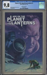 PLANET OF THE APES/GREEN LANTERN #1 - CGC 9.8 - MOVIE POSTER VARIANT -1465535011