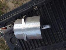 """Aluminum Irrigation Pipe Fitting 6"""" Twist Lock End Plug"""