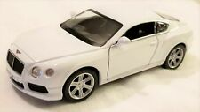 "RMZ City - 5"" Scale Model Bentley Continetal GT V8 White (BBUF555021W)"
