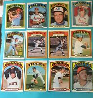 1972 TOPPS BASEBALL STEVE STONESAN FRANCISCO GIANTS ROOKIE CARD #327 (Creased)