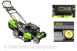 Zipper Benzin-Rasenmäher ZI-BRM52EST mit Elektrostart