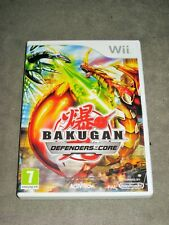 BAKUGAN DEFENDERS OF THE CORE Pour NINTENDO Jeu WII/WII U Complet