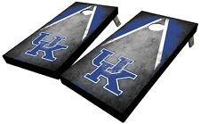 University of Kentucky Distressed Triangle Cornhole Board Set