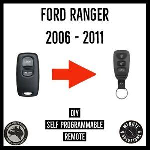 Fits Ford Ranger PJ PK Remote Control  2006 2007 2008 2009 2010 2011