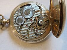 ***RARE***  ONLY 410  MADE HAMILTON 965 HUNTER RR POCKET  WATCH