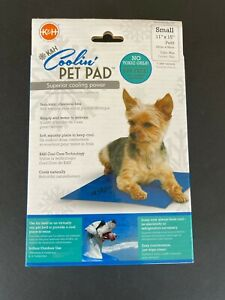 Dog Cooling Mat Blue - K&H Pet Products - Coolin Pet Pad - Small