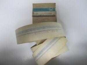 76-77 Buick Regal Trunk Deck Lid Tape Stripe Pinstripe Kit Blue NOS 1250588