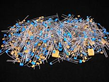 (500+ pcs.)  Radial Mono Capacitor - Grab Bag, assorted values and voltage