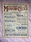 THE MOTOR CYCLE  August 5th 1908  Magazine (Veteran Motorcycle)