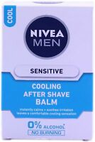 Nivea Men Sensitive Cooling After Shave Balm For Skin Care 100 ML Free Shipping