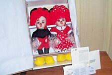 Rosie & Rags As Mickey & Minnie by Marie Osmond from the Twins Series Mint Nrfb