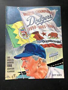1966 Los Angeles Dodgers Yearbook