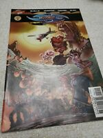 Cliffhanger Comic book #2 KMKZ KAMIKAZE Fast Domestic Shipping