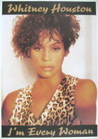 WHITNEY HOUSTON POSTER I'M EVERY WOMAN
