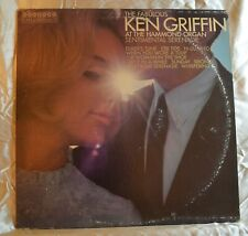 Ken Griffin at the Hammond Organ LP Vinyl Record Album Columbia Harmony Records
