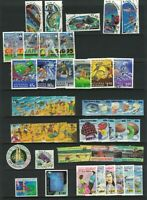 MNZ71) New Zealand 1994 Stamp Sets CTO/Used