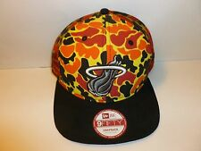 Miami Heat NBA New Era 9FIFTY Snapback Adjustable Baseball Cap Hat (MEN MED-LG)