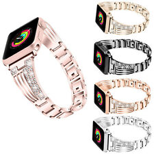 US For Apple Watch Series 4 3 2 5 38/42MM women Bling Bracelet iWatch Band Strap