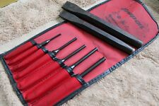 Snap-On Tools 7-Piece Punch and Chisel Great condition C0709