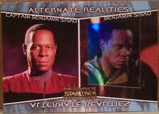 Complete Star Trek Deep Space Nine DS9 Alternate Realities Card - AR1 Sisko