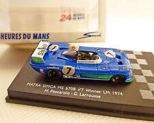 MATRA simca, Le Mans, 1974, spark, 1:87