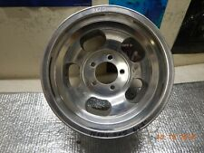 """ONE VINTAGE 15 x 8.5"""" SUPERIOR SLOT MAG WHEEL FORD CHEVY VAN 5 on 5"""" GM TRUCK"""