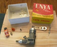 Enya 35 Model Airplane engine #5001 original from 1950's 1960's not re release