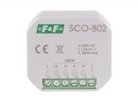 F&F SCO-802 Dimmer 300W Softstarter Memory Halogen Glühlampen Transformator 230V