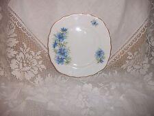 COLCLOUGH BLUE CORNFLOWERS  VINTAGE  BONE CHINA  TEA PLATES