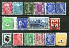 FRANCE - LOT timbres années '30/'40, neufs LUXE, VF MNH STAMPS