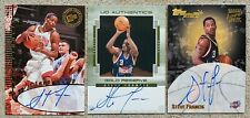 STEVE FRANCIS * LOT OF 3 * On-Card Hard-Signed AUTO Autograph Basketball Cards