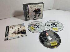 Final Fantasy Anthology Playstation 1 Ps1 Black Label Complete Cib - Tested