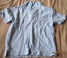 Boys Blue School Polo Shirt Age 3-4 George