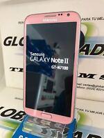 SAMSUNG GALAXY NOTE 2 N7100 ORIGINAL 16GB ROSA PINK LIBRE GRADO A OCASION