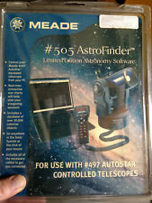 Meade AstroFinder Software #505 for use with #497 AutoStar Controlled Telescopes