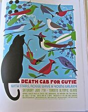 Death Cab for Cutie Mini Concert  Poster Reprint for  Toronto Gig 2008 14x10