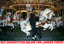 MICHAEL JACKSON NEVERLAND CAROUSEL (1) RARE  PHOTO