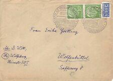 BRD Heuss Brief : Wolfsburg 05.12.1955