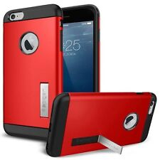 IPhone 6/6s, funda: tough Armor for iPhone 6s/6 4,7 kick-Stand rojo