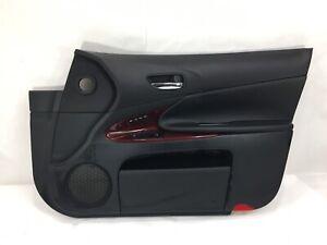 OEM 2006 LEXUS GS300 Passenger Right Door Interior Trim Panel Leather