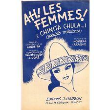 AH LES FEMMES Chinita Chula corrido mexicain paroles CHAMFLEURY musique MONREAL